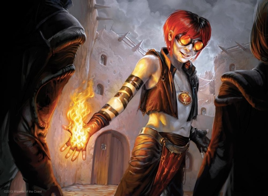 Young Pyromancer Featured - Matt Plays Magic