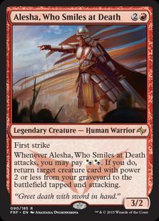 Alesha, Who Smiles at Death - Commander - Matt Plays Magic