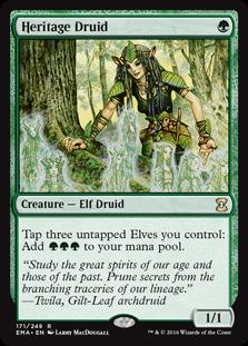 Heritage Druid - Matt Plays Magic