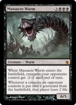 Massacre Wurm - Matt Plays Magic