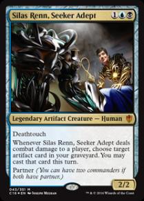 Silas Renn, Seeker Adept - Matt Plays Magic