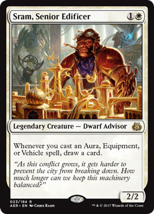 Sram, Senior Edificer - Matt Plays Magic