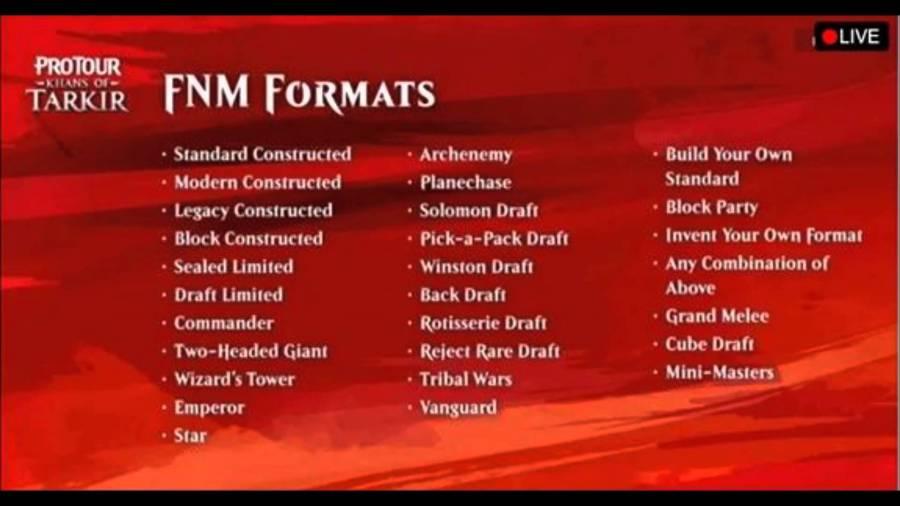 All the MTG Formats - Matt Plays Magic