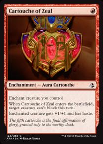 Cartouche of Zeal - Matt Plays Magic