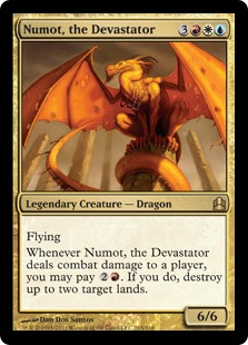 Numot, the Devastator - Matt Plays Magic