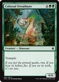Colossal Dreadmaw - Ixalan Standard Pauper - Matt Plays Magic