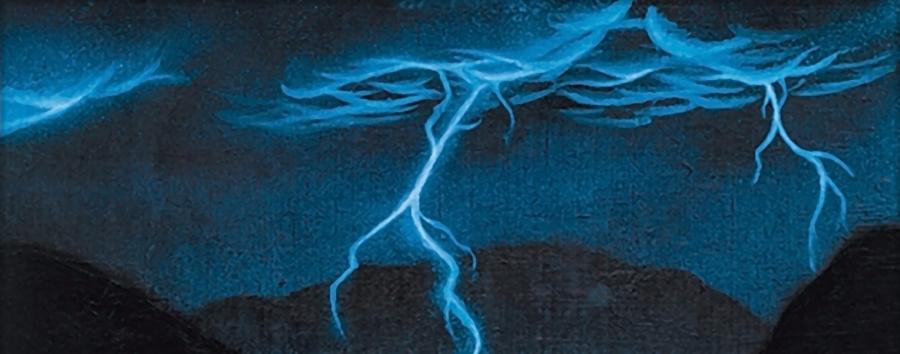 Lightning Bolt Banner - Matt Plays Magic