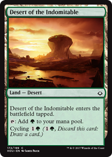 Desert of the Indomitable - Matt Plays Magic