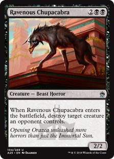 Ravenous Chupacabra - Matt Plays Magic