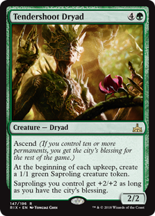 Tendershoot Dryad - Matt Plays Magic