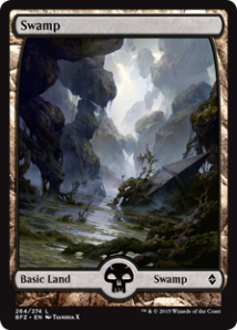 Battle for Zendikar Swamp Tianhua X - Matt Plays Magic