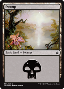 Commander Anthology Swamp Dan Frazier - Matt Plays Magic