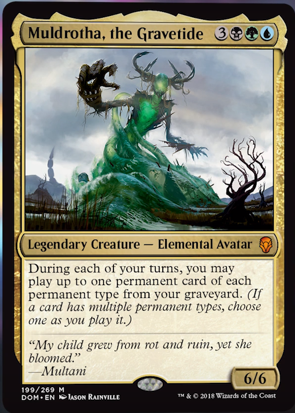 Muldrotha, the Gravetide - Matt Plays Magic