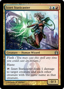 Izzet Staticaster - Matt Plays Magic