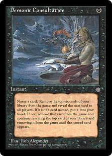 Demonic Consultation - Matt Plays Magic