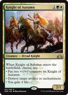 Knight of Autumn - Matt Plays Magic