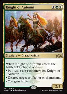 Knight of Autumn - Matt Plays Magic