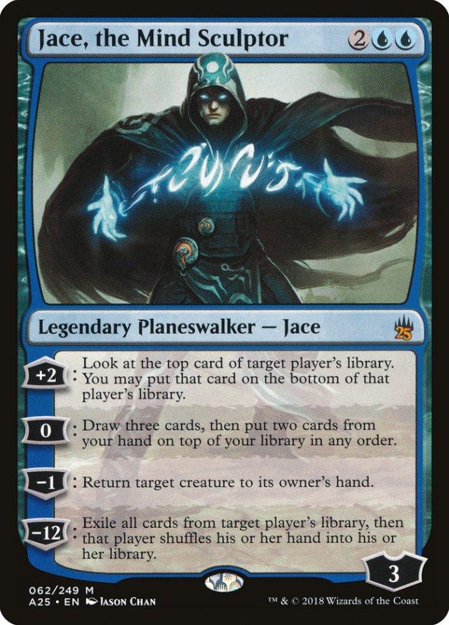 Jace the Mind Sculptor Large - Matt Plays Magic