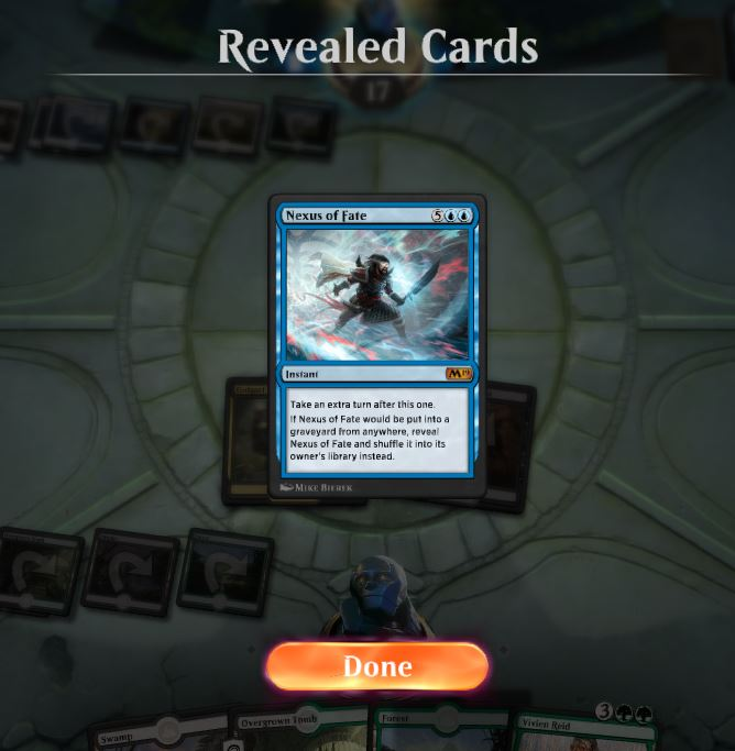 Nexus of Fate Reveal Magic Arena - Matt Plays Magic
