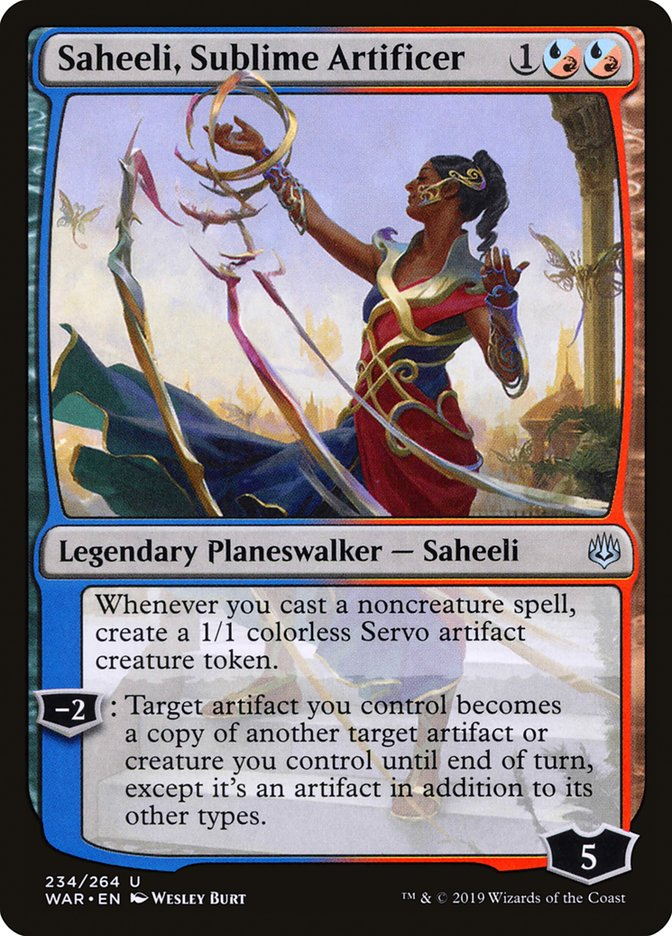 Saheeli Sublime Artificier Brawl